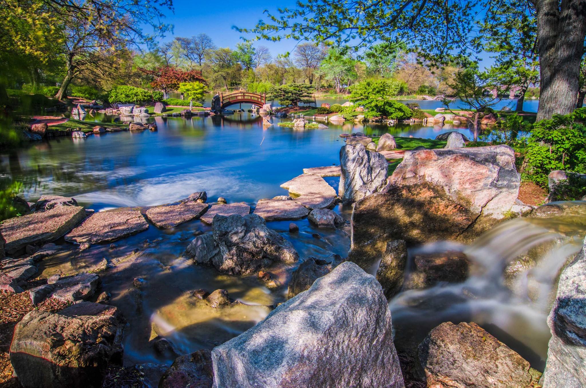 Jackson Park Chicago, Osaka Japanese Garden