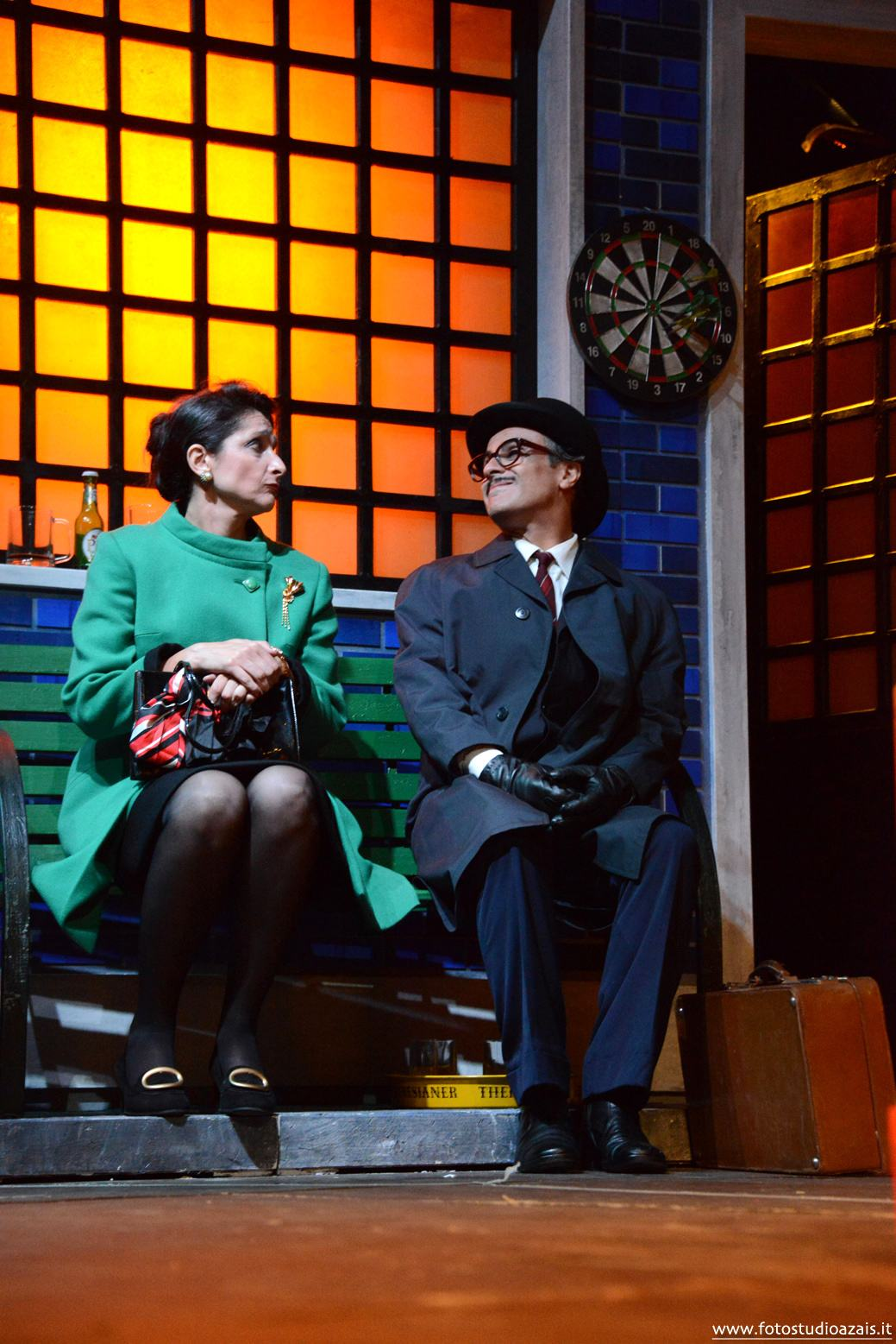 Maria Letizia Gorga e Maximilian Nisi. Scene di Carlo Di Marino Costumi di Caterina Olcese