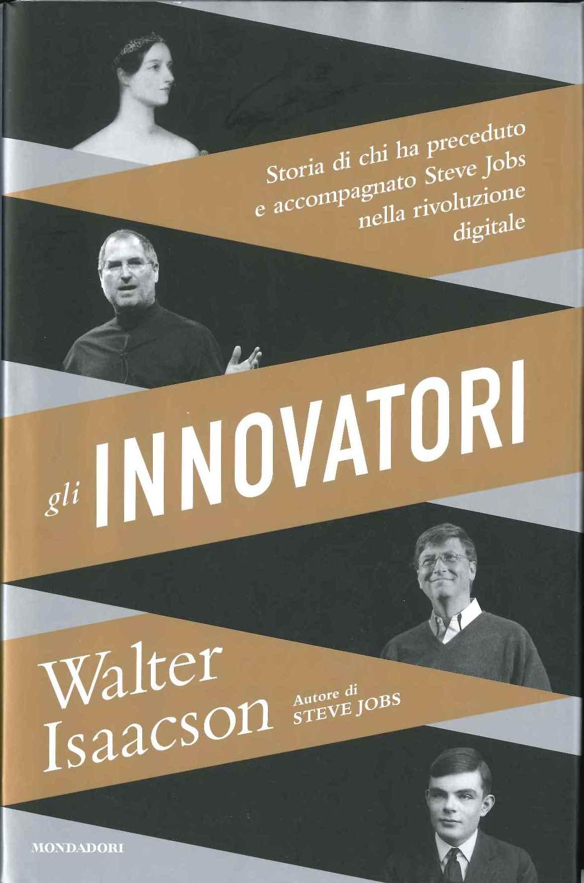 Copertina Walter Isaacson Gli Innovatori