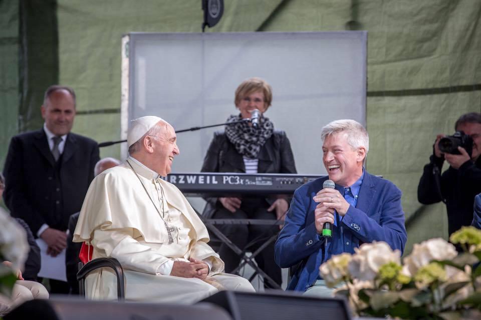 Pierluigi sassi e il papa